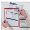Prospekttasche A4 5ST rot FRANKEN ITSA4M/501 magnetisch Produktbild Anwendungsdarstellung 1 S