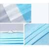 Gesichtsmaske 3lagig weiß-blau 5 26 02 00/271795003 Universalgröße Typ1 Produktbild Detaildarstellung S