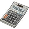 Tischrechner 12-stellig silber CASIO MS-120BM DualPower Produktbild Einzelbild 1 S