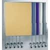 Moderationstafel blaugrau 120x150 cm LEGAMASTER 7-2042 00 Filzbezug Produktbild Stammartikelabbildung S