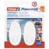 Klebehaken Power Strips weiß TESA 58013-49 oval 2ST Produktbild