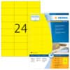 Universaletiketten 70x37 gelb HERMA 4406 100 Blatt Produktbild Einzelbild 2 S