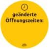Hinweisetiketten Corona Schilderset gelb AVERY ZWECKFORM 49401 Gastro 12ST Produktbild Detaildarstellung 3 S