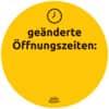 Hinweisetiketten Corona Schilderset gelb AVERY ZWECKFORM 49400 12ST Produktbild Anwendungsdarstellung S