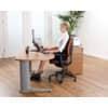 Rückenstütze Netz schwarz FELLOWES FW8029901 Produktbild Anwendungsdarstellung 2 S