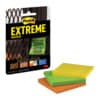 Haftnotizblock 76x76mm 3x45Blatt sort. POST-IT EXT33M-3-FRGE Produktbild