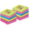 Haftnotizblock 76x76mm Ultrafarben POST-IT 654-12SSU 90Bl 12St Produktbild