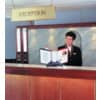 Sichttafelständer SHERPA® Modul 10 grau DURABLE 5623 57 leer für 10 Tafeln Produktbild Produktabbildung aufbereitet S