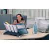 Sichttafelständer SHERPA® Modul 10 grau DURABLE 5623 57 leer für 10 Tafeln Produktbild Produktabbildung aufbereitet 3 S