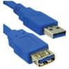 Verlängerungskabel A/A 1,8m bl MEDIARANGE MRCS151 USB 3.0 Produktbild