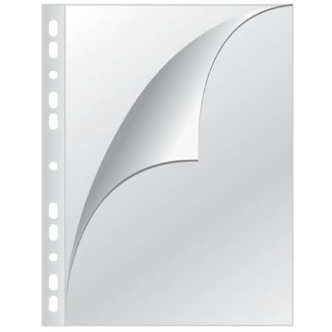Prospekthülle A4 100ST glaskl Q-CONNECT KF14842 PP 0,15mm Produktbild