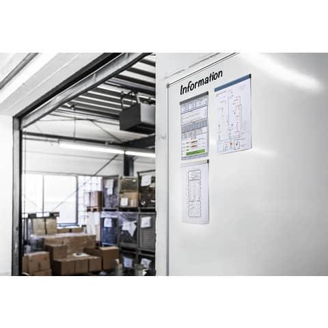 Magnetleiste DURAFIX RAIL 210mm silber DURABLE 4706 23 5ST Produktbild Produktabbildung aufbereitet 2 XL