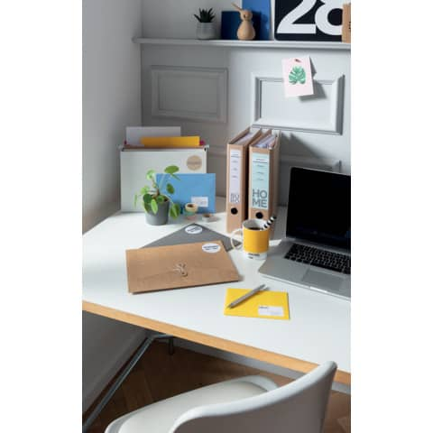 Universaletiketten Office&Home sortiert AVERY ZWECKFOM 49300 Produktbild Anwendungsdarstellung XL