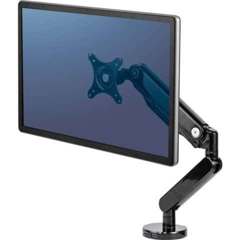 Bildschirmschwenkarm FELLOWES FW8043301 Produktbild Anwendungsdarstellung 2 XL