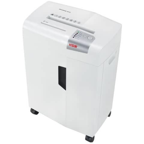 Aktenvernichter Shredstar X13 weiß HSM 1057121 4x37mm Produktbild