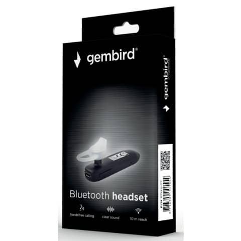 Kopfhörer Bluetooth Headset Stereo GEMBIRD BTHS-07 Produktbild