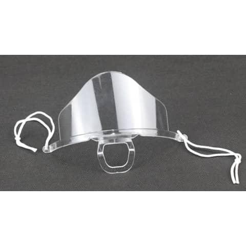 Mund- und Nasenschutzschild  transp HGK-BHMA614419 LIGHT Produktbild Einzelbild 2 XL