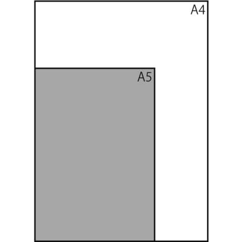 Notizblock ca.A4 kariert schwarz CONCEPTUM CO800 Hardcover Produktbild Piktogramm XL