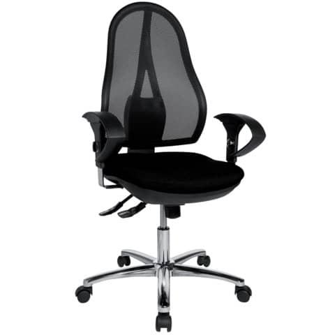 Drehstuhl schwarz TOPSTAR OP290UG20 Produktbild