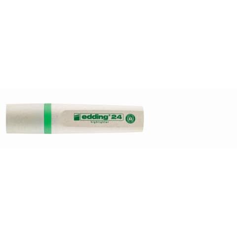 Textmarker EcoLine neongrün EDDING 24011 nachfüllbar Produktbild Einzelbild 1 XL