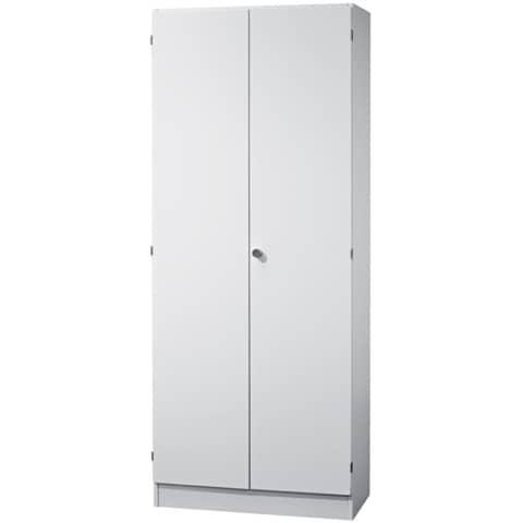 Flügeltürenschrank weiß/ weiß HAMMERBACHER V6100/W/W/SG Solid Produktbild