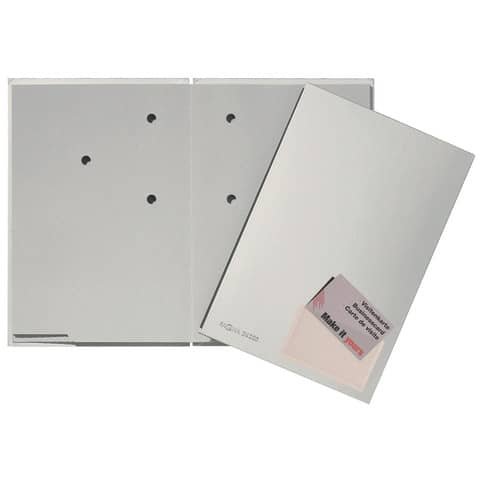 Unterschriftsmappe 20 tlg silber PAGNA 24205 14 Color Produktbild