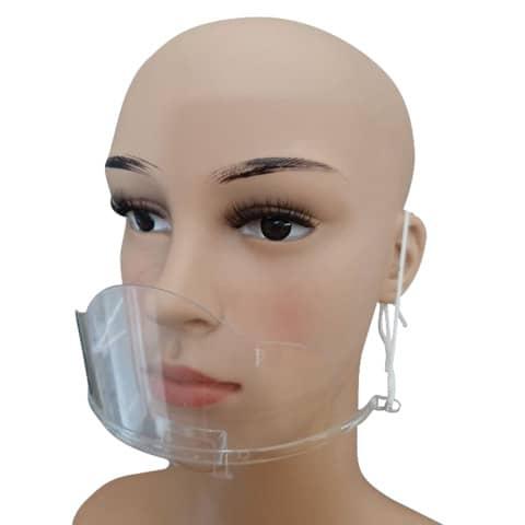 Mund- und Nasenschutzschild  transp HGK-BHMA614419 LIGHT Produktbild