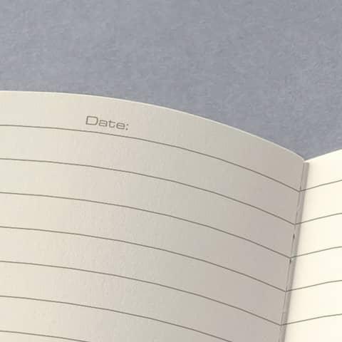 Notizheft ca. A5 kariert schwarz CONCEPTUM CO862 Softcover Produktbild Detaildarstellung 3 XL
