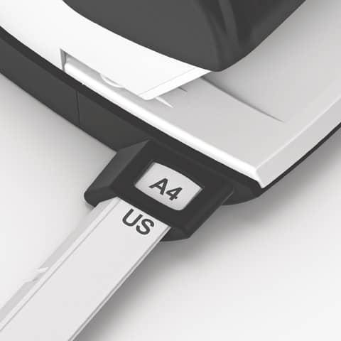 Locher NeXXt Style arktik weiß LEITZ 5006-00-04 m. AS Produktbild Anwendungsdarstellung 2 XL