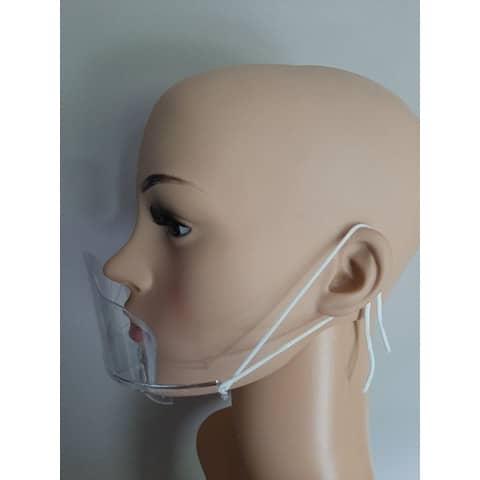Mund- und Nasenschutzschild  transp HGK-BHMA614419 LIGHT Produktbild Einzelbild 1 XL