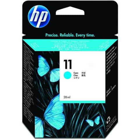 Inkjetpatrone Nr. 11 cyan HP C4836A 28ml Produktbild