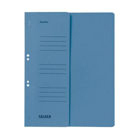 Ösenhefter A4 blau 1/2 Deckel FALKEN 80003809 Produktbild Einzelbild 1 XL