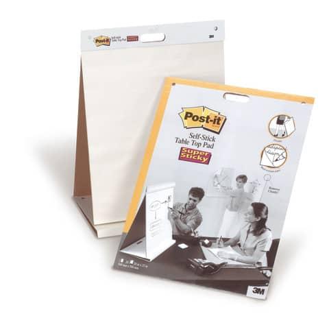 Tischflipchart blanko POST-IT 563R 50.8x58.4cm Produktbild Anwendungsdarstellung 1 XL