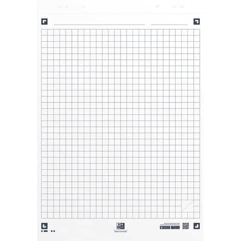 Flipchartblock 20BL kariert OXFORD 400096320 68x98cm SmartCharts Produktbild