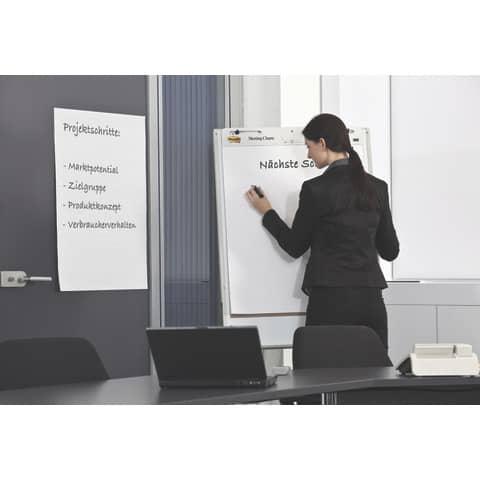 Tischflipchart blanko POST-IT 563R 50.8x58.4cm Produktbild Anwendungsdarstellung 3 XL