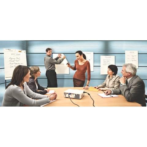 Tischflipchart blanko POST-IT 563R 50.8x58.4cm Produktbild Anwendungsdarstellung 2 XL