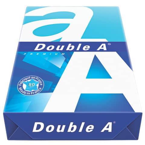Kopierpapier 500 Blatt weiß DOUBLE A 522608010001 A4 80g Produktbild Einzelbild 3 XL