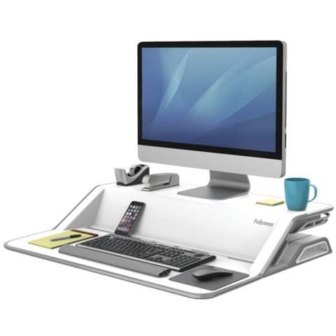 Computertisch  weiß FELLOWES FW0009901 Produktbild Einzelbild 2 XL