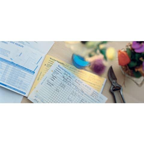 Wochenbericht A5 2x40BL SD ZWECKFORM 1772 SD 2x40 Blatt Produktbild Produktabbildung aufbereitet XL
