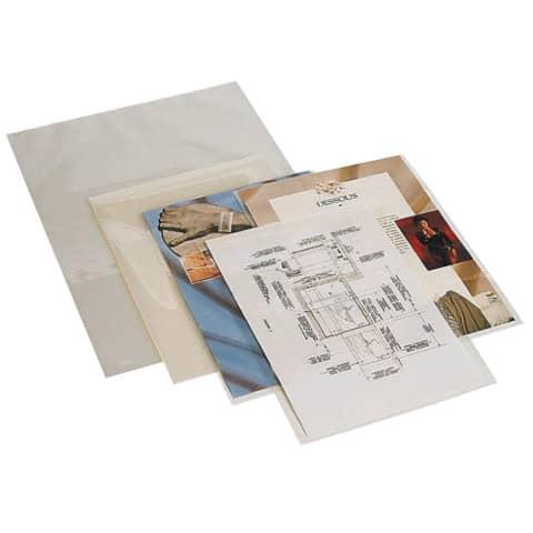 Folientasche A4 2x80mic 100ST Q-CONNECT KF04114 Produktbild Stammartikelabbildung XL