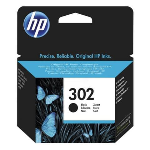 Inkjetpatrone Nr. 302 schwarz HP F6U66AE Produktbild