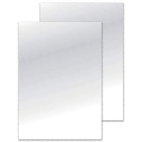 Einbanddeckel A4 200mic Q-CONNECT KF32121 100St. Produktbild Einzelbild 2 XL