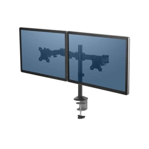 Bildschirmschwenkarm doppelt schwarz FELLOWES FW8502601 Reflex Series Produktbild Einzelbild 2 XL