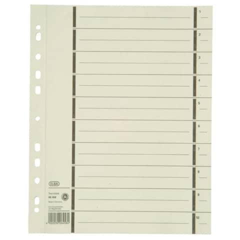 Trennblatt A4 chamois ELBA 400004672 100ST Produktbild