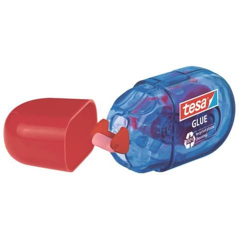 Kleberoller 2 Stück Mini rot/blau TESA 59820-00000-00 6m x 5mm Produktbild Einzelbild 3 XL