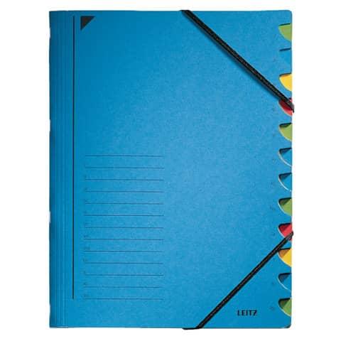 Ordnungsmappe A4 blau LEITZ 3912-00-35 Karton Produktbild