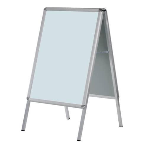 Plakatständer A2 Alu eloxiert FRANKEN BSA2 Produktbild