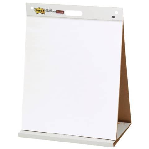 Tischflipchart blanko POST-IT 563R 50.8x58.4cm Produktbild