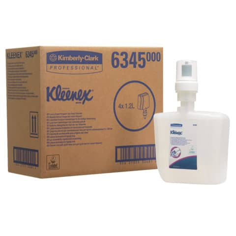 Schaumseife Sanft 1,2 Liter KIMBERLY-CLARK 6345 Produktbild Einzelbild 2 XL