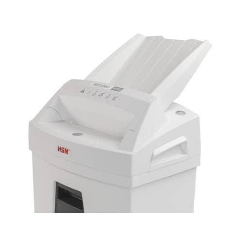 Aktenvernichter AF100 Autofeed ws/sw HSM 2063111 4x25mm Partikel Produktbild Detaildarstellung 2 XL